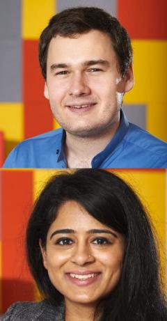 James Kilgour and Shivali Fulchand