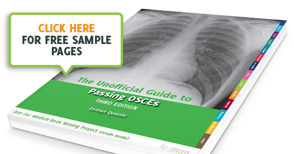 The Unofficial Guide to passing OSCEs - Medical textbook