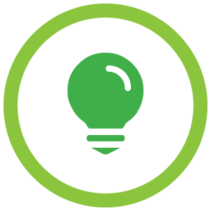 The Unoffical Guide To Practical Skills - Light Bulb Icon Green