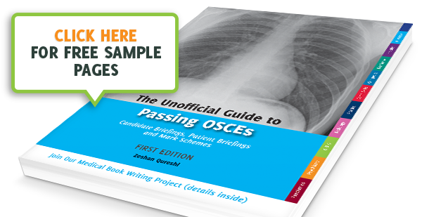 Unoffical Guide To Passing OSCEs - Click For Free Samples image