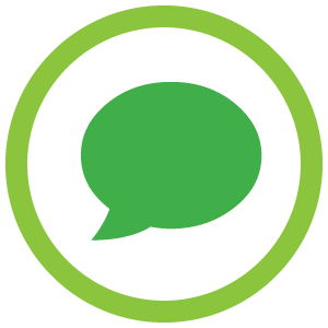 The Unoffical Guide To Radiology - Speech bubble Icon Green