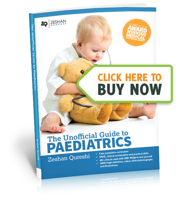 The Unoffical Guide To Paediatrics - Buy Now image