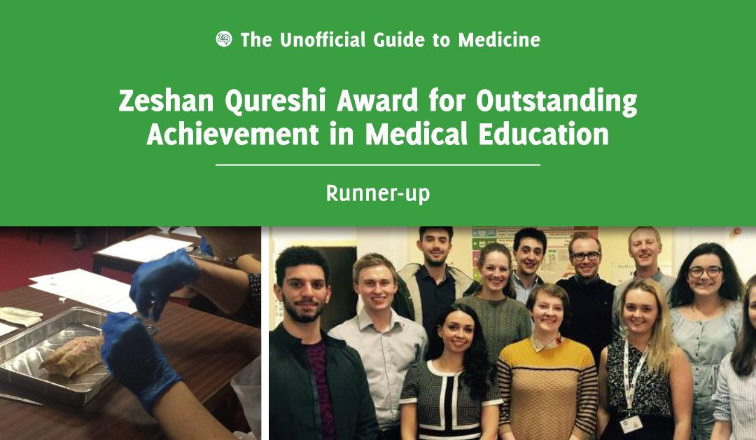 Zeshan Qureshi Award for Outstanding Achievement in Medical Education Runner-up: Rachael Boyle