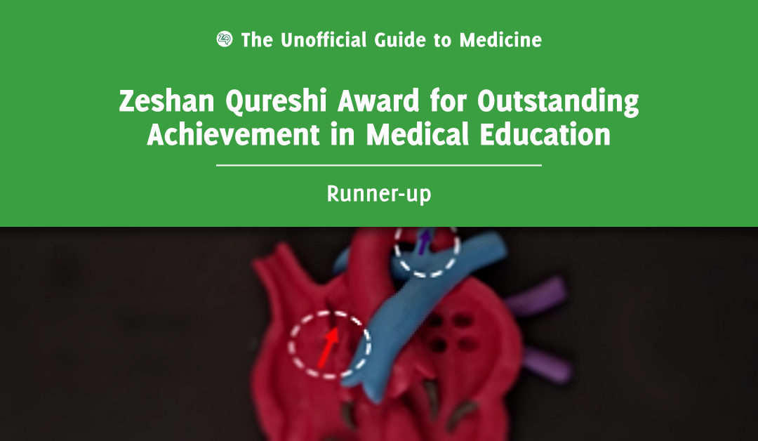 Zeshan Qureshi Award for Outstanding Achievement in Medical Education Runner-up: Stella Sepping