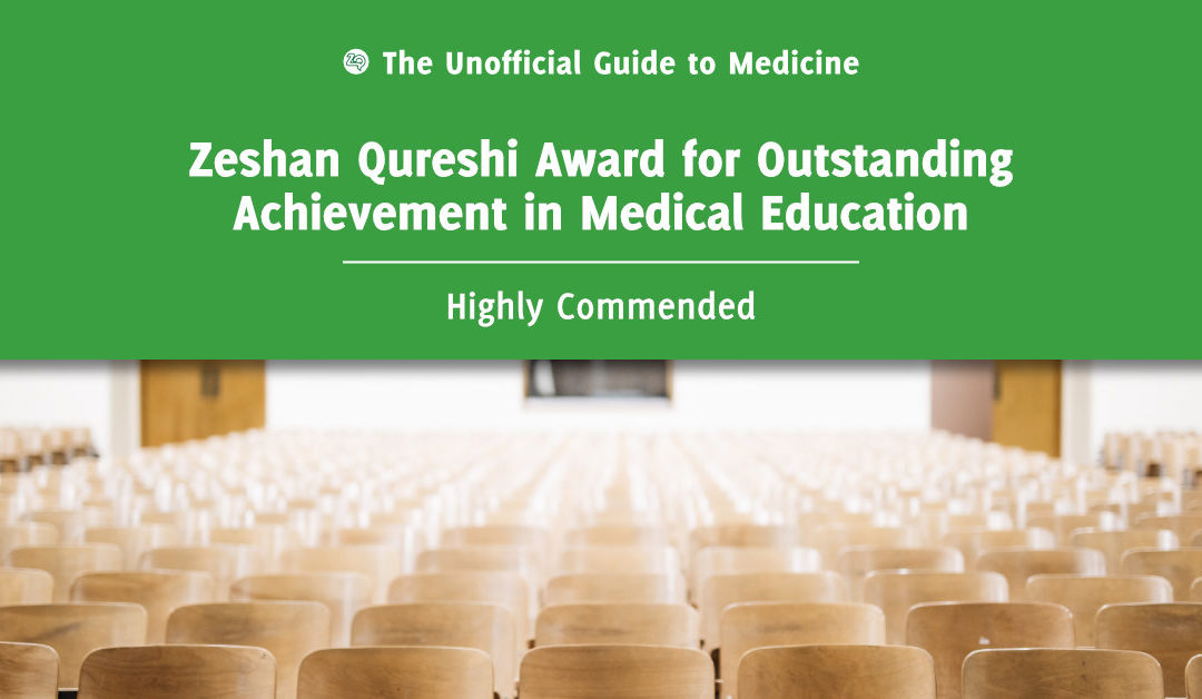 Zeshan Qureshi Award for Outstanding Achievement in Medical Education Highly Commended: Daniel Purchase