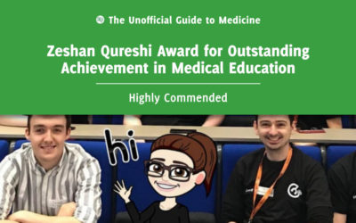 Zeshan Qureshi Award for Outstanding Achievement in Medical Education – Highly Commended: Jess Leighton