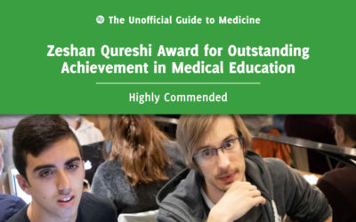 Zeshan Qureshi Award for Outstanding Achievement in Medical Education Highly Commended: Kacper Niburski