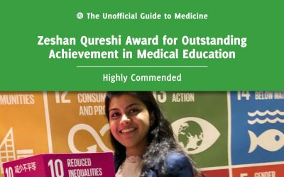 Zeshan Qureshi Award for Outstanding Achievement in Medical Education Highly Commended: Fatima Ali