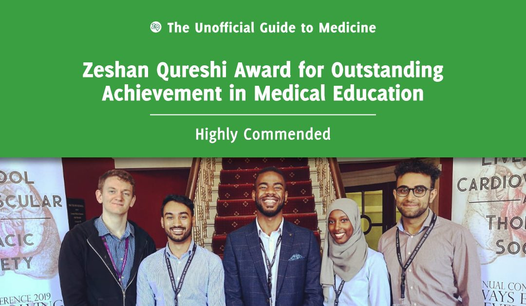 Zeshan Qureshi Award for Outstanding Achievement in Medical Education Highly Commended: Ter-Er Kusu-Orkar