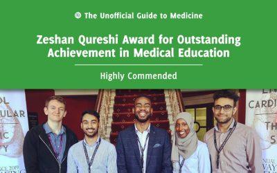 Zeshan Qureshi Award for Outstanding Achievement in Medical Education Highly Commended: Ter-Er Kusu-Orkar