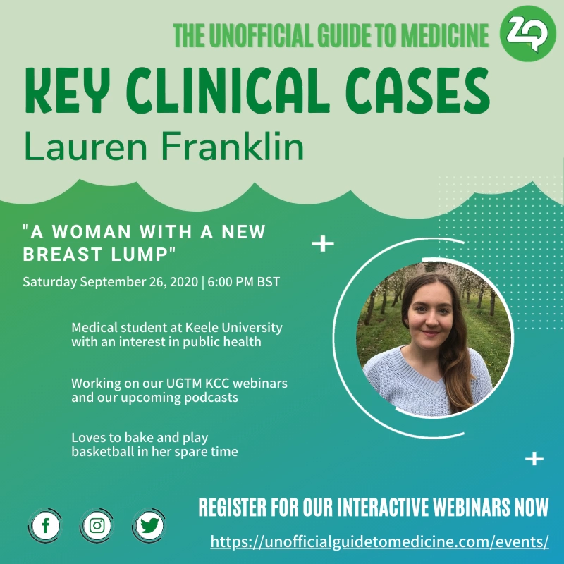 Key Clinical Cases: Medicine – A woman with a new breast lump