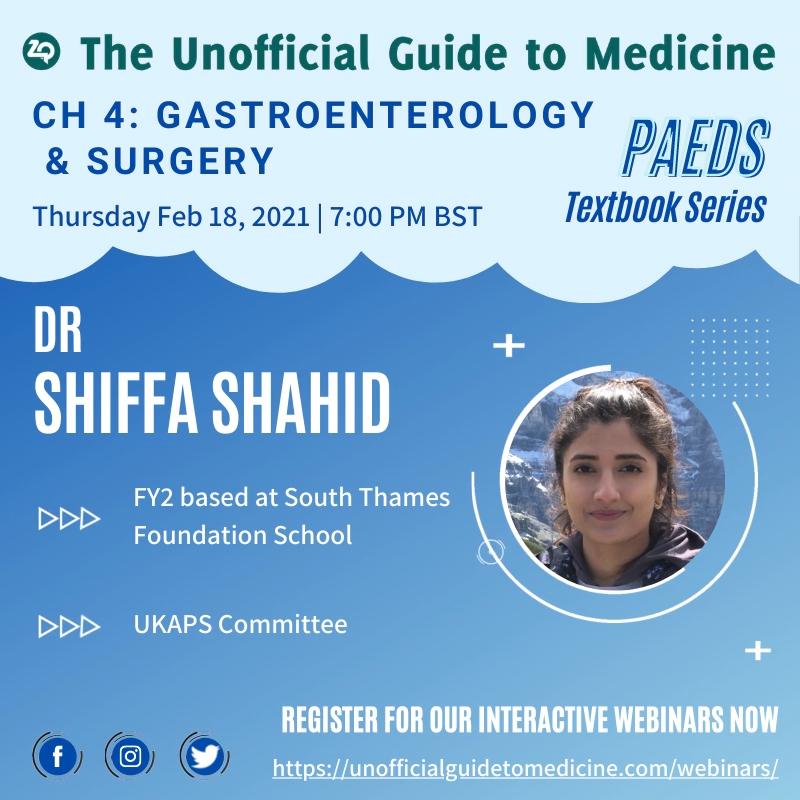Paediatrics: Gastroenterology & Surgery