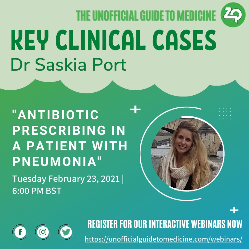 Key Clinical Case: Antibiotic prescribing in a patient with pneumonia