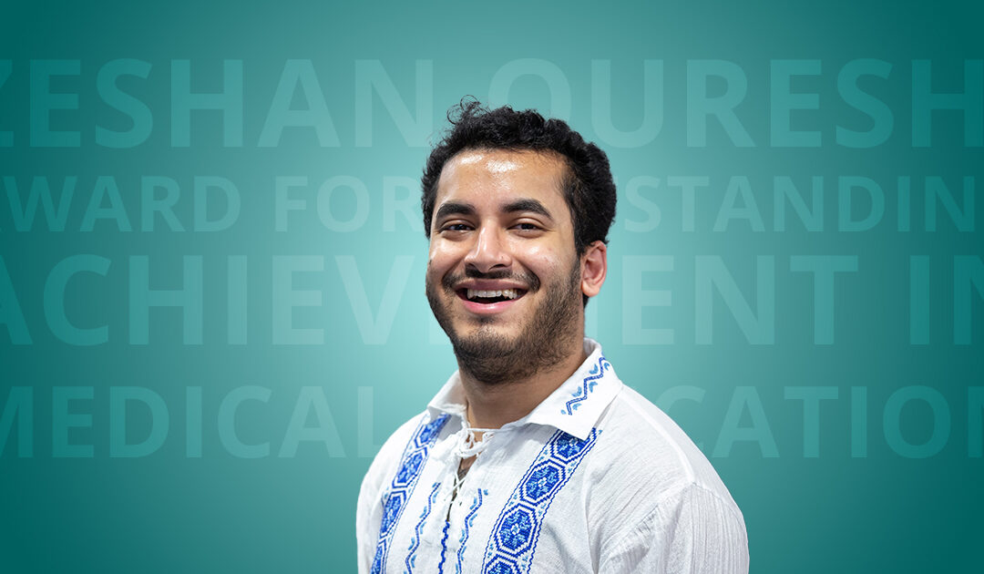 Outstanding Achievement in Medical Education Award: Highly Commended – Mohammed Ehsaanuz Zaman
