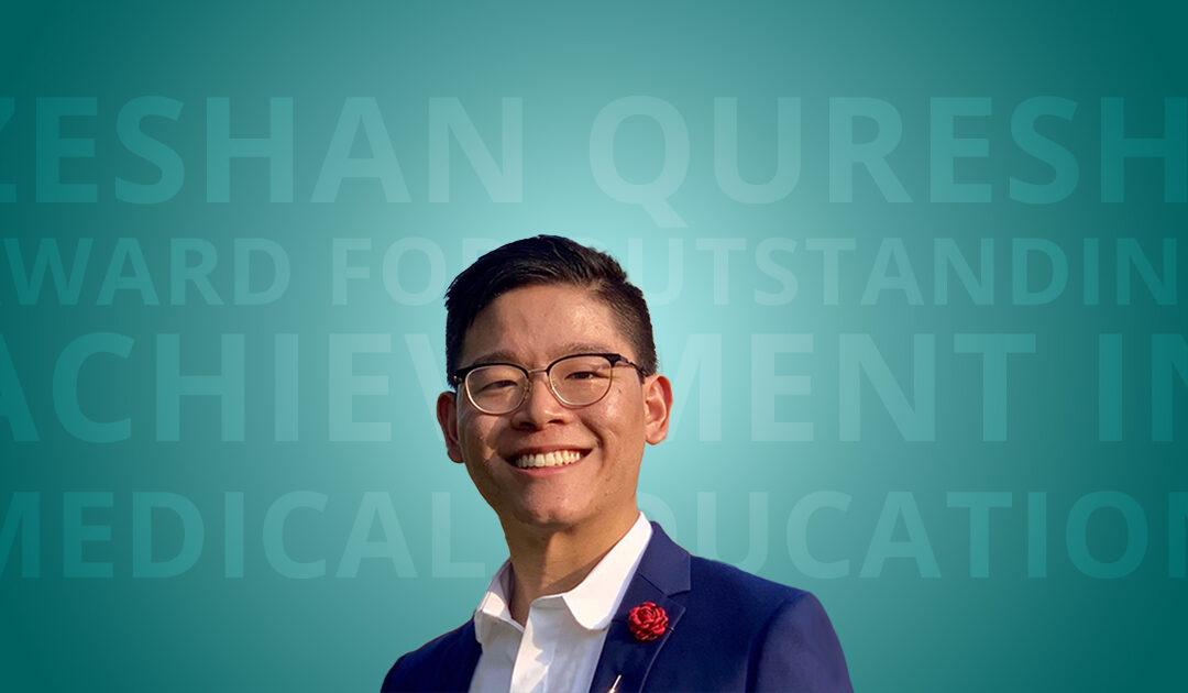 Outstanding Achievement in Medicial Education Award: Runner Up: Setthasorn Zhi Yang Ooi